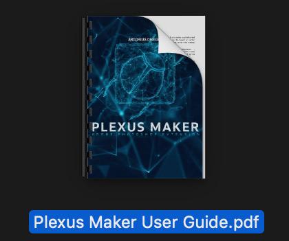 Plexus Maker Photoshop user guide