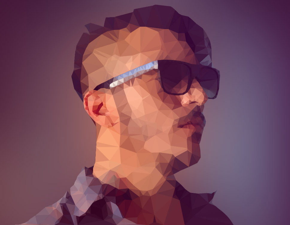 The only Photoshop plugin for creating Low Polygon effects